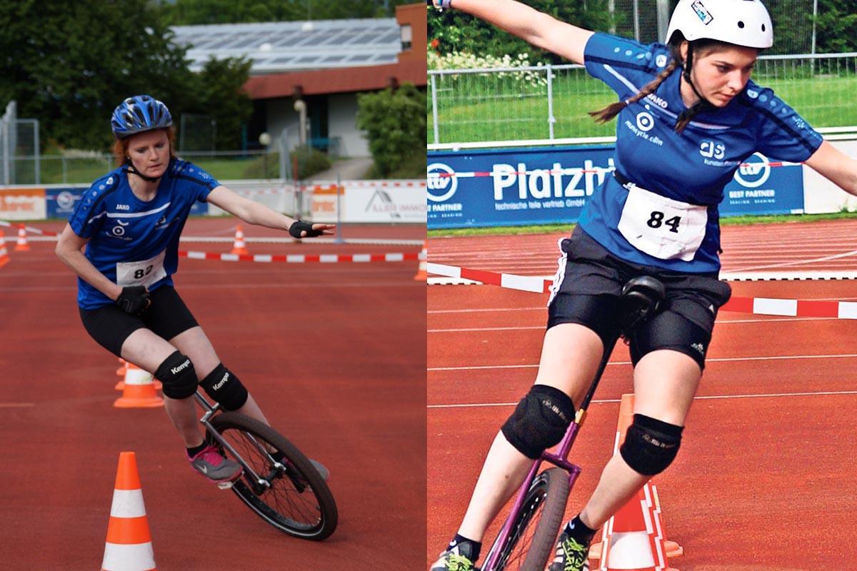 SV Kornwestheim Einrad Meisterschaften Illertissen